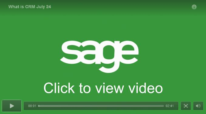 What is CRM - Sage Video